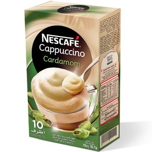 Nescafe Cappuccino With Cardamom Foaming Mix Coffee 18.7g Sachet