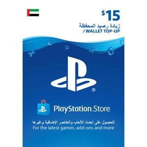 Sony ESD Wallet top up - 15 USD UAE [Digital]