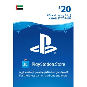 Sony ESD Wallet top up - 20 USD UAE [Digital]