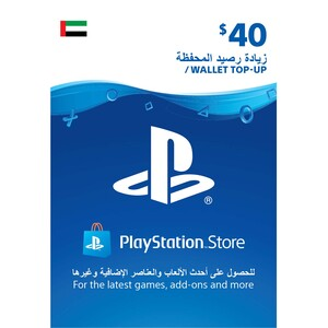 Sony ESD Wallet top up - 40 USD UAE [Digital]