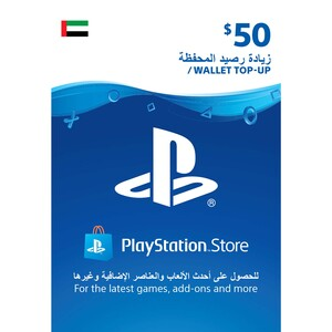 Sony ESD Wallet top up - 50 USD UAE [Digital]