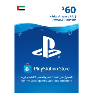 Sony ESD Wallet top up - 60 USD UAE [Digital]