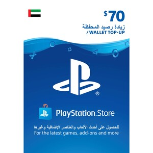 Sony ESD Wallet top up - 70 USD UAE [Digital]