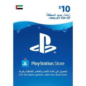 Sony ESD Wallet top up - 10 USD UAE [Digital]