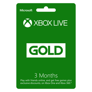 Xbox Live Gold Subscription - 3 Months [Digital Download]