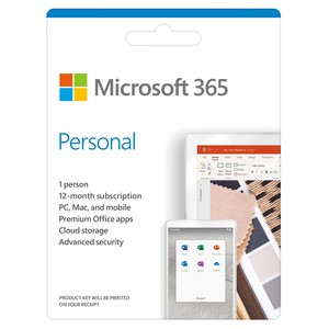 Microsoft 365 Personal [Digital Download]