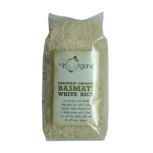 Mr.Organic Pakistani Basmati White Rice 500g