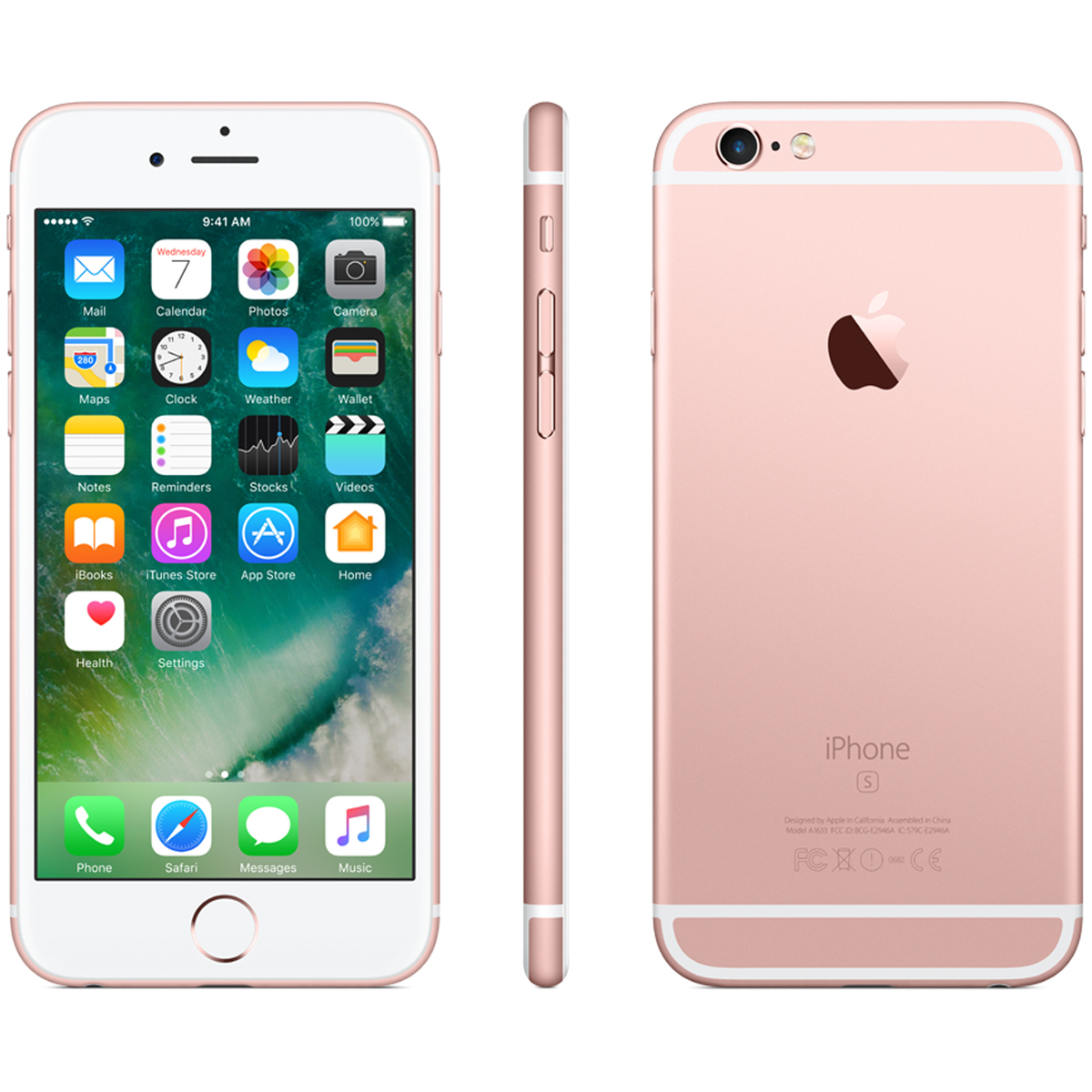 Le Iphone 6s 32gb Rose Gold