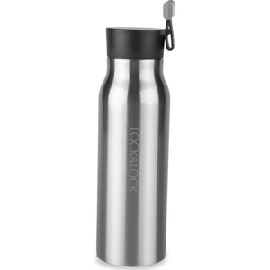 Lock & Lock Vacuum Bottle Silver 500ml