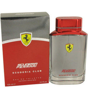 Ferrari Scuderia Club Eau De Toilette for Men 125ml