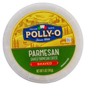 Polly-O Shaved Parmesan Cheese 141g