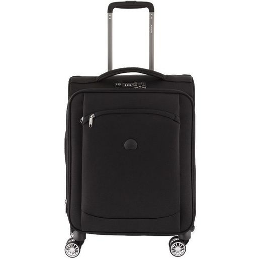 Delsey Montmartre air 4Wheel Soft Trolley 83cm Black