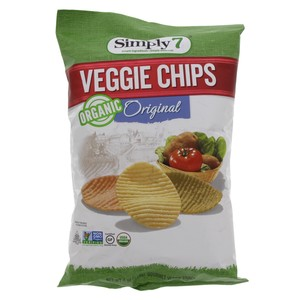 Simply 7 Organic Vegetable Chips Original 113g
