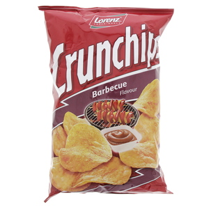 Lorenz Crunchips with Barbecue Flavour 175g