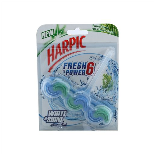 Harpic Fresh Power-6 Forest Dew 39g