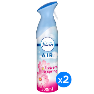 Febreze Air Freshener Flowers and Spring 2 x 300ml
