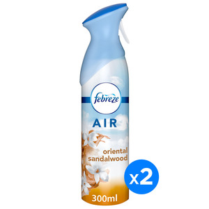 Febreze Air Freshener Oriental Sandalwood 2 x 300ml