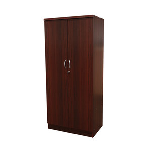 P.S.P Wardrobe 2-Doors LULU786 Mahogany Color