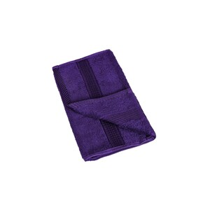 Laura Collection Hand Towel Purple Size: W30 x L50cm