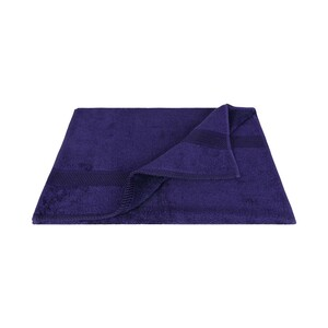 Laura Collection Hand Towel Purple Size: W50 x L100cm