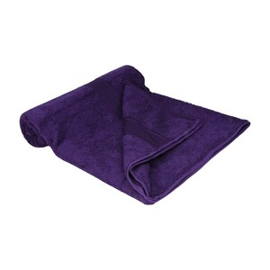 Laura Collection Bath Towel Purple Size: W70 x L140cm