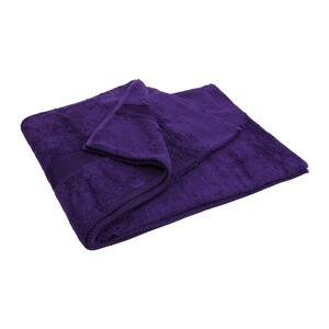 Laura Collection Bath Towel Purple Size: W90 x L150cm