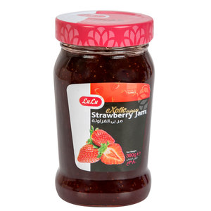 Lulu Exotic Strawberry Jam 380g
