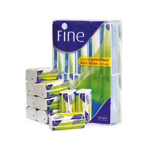 Fine Fluffy Facial Tissue 2ply 150pcs