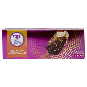 Baskin Robbins Almond 'N' Caramel Ice Cream Bar 90ml