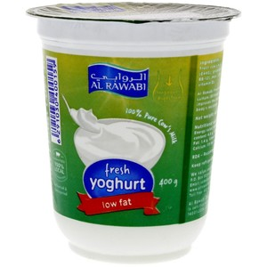 Al Rawabi Fresh Yoghurt Low Fat 400g