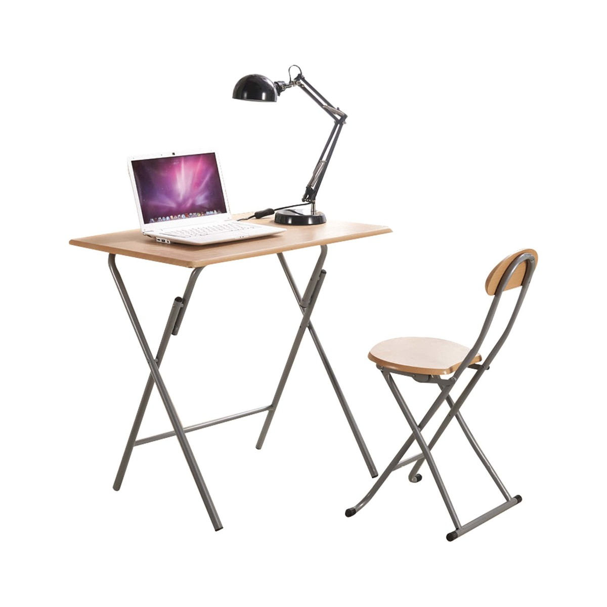 Home Style Folding Study Table + Chair KT9