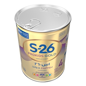 Nestle S26 Prokids Gold Stage 4 With Biofactors System 3-6 Years Premium Milk Powder For Kids 400g