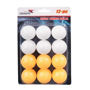 Sports Champion Table Tennis Ball PP-12 1x12pc