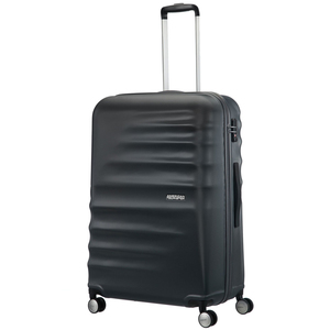 American Tourister Preston 4 Wheel Hard Trolley 77cm Black