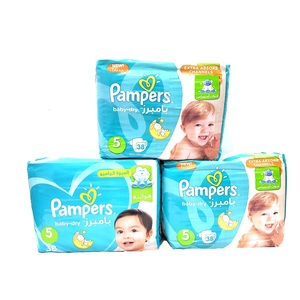 Pampers Active Baby Dry Diapers Size 5, 11-16kg 3 x 38pcs