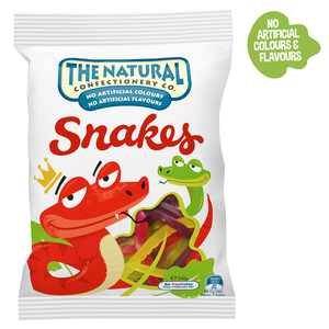 The Natural Confectionary Co. Snakes Jelly Candy 260g