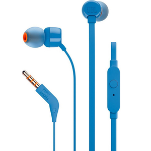 JBL In-ear headphones T110 Blue