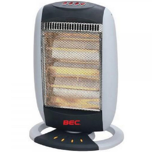 BEC Halogen Heater 3 Elements 1200W