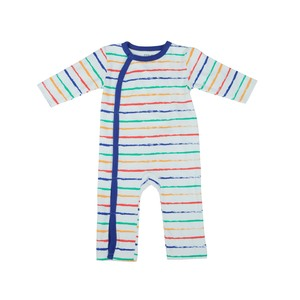 Reo Newborn Boys Short 3/4 sleeve Sleepsuit B7NB119 0-18M