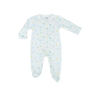 Reo Newborn Girls 3/4 Slv SleepSuit B7NG149 0-18M