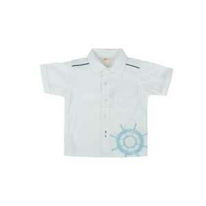 Reo Infant Boys Short Sleeve Shirt B7IB100B 6-24M