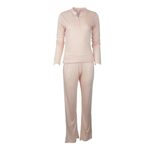 Reo Women's Pyjama Set Short Sleeve B7NW015 Pink