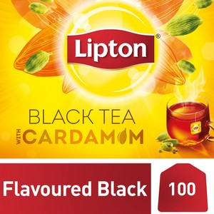 Lipton Yellow Label Black Tea with Cardamom 100 Teabags