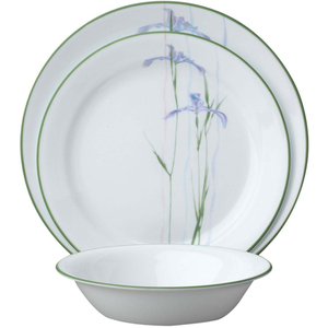 Corelle Dinner Set Shadow Iris Round IM 18pcs