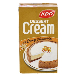 KDD Dessert Cream With Orange Blossom Water 125ml