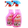 Home Mate Glass and Surface Cleaner Pink 2 x 650ml