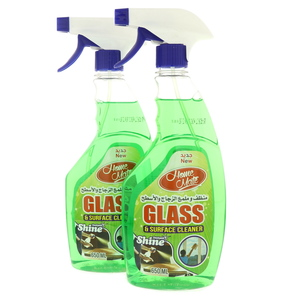 Home Mate Glass and Surface Cleaner Green 2 x 650ml