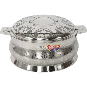 Chefline Stainless Steel Hot Pot 3.5L Silver