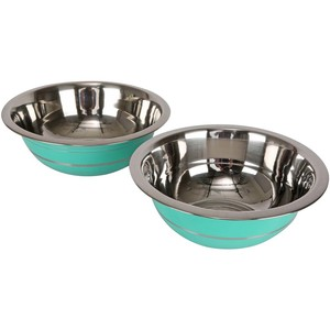 Chefline Stainless Steel Deep Mixing Bowl Set 2pcs