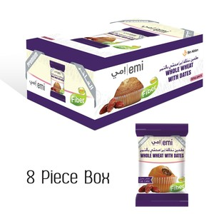 Emi Whole Wheat with Dates Cupcakes 45g